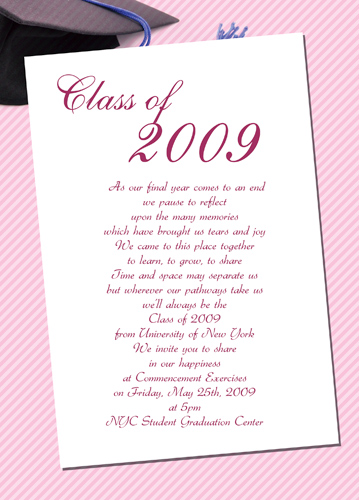 Free Graduation Announcements High School