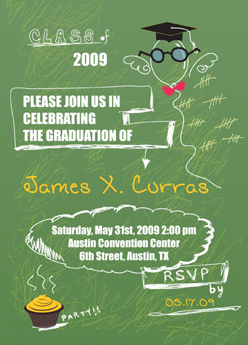 Free Printable Graduation Invitations Class Of 2011