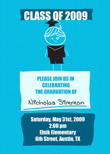 Buy Cheap Graduation Invitations