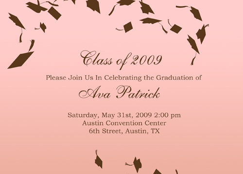 Preschool Graduation Invitations