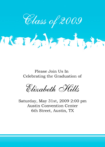 Sample Graduation Announcement With Honors