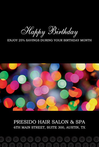 Salon Marketing Promos