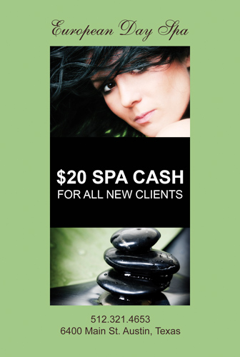 Spa And Salon Marketing Materials