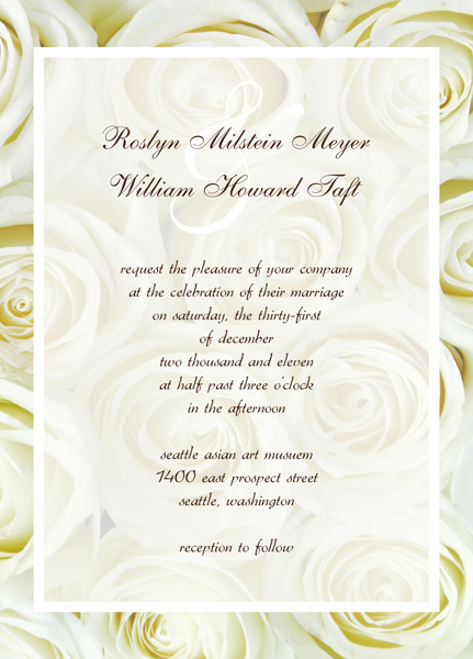 Wedding Anniversary Invitation Templates