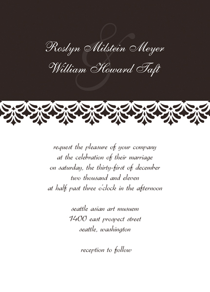 Modern Wedding Invitation Templates  Make Contemporary Invites