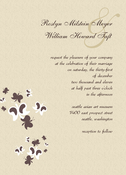 Below you may discover a lot of diy wedding invitation templates that you