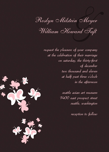 Wedding Invitation Card Templates – Free Wedding Invitation Card Template