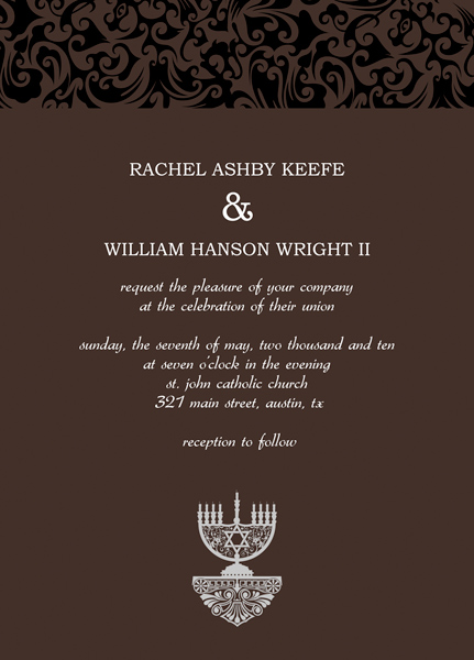 Private Wedding Invitation Wording is good invitations design
