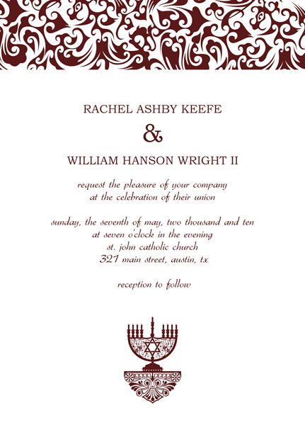 Homemade Wedding Invitation Templates