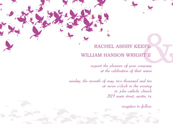 Wedding Invitation Templates – Free Electronic Wedding Invitations Cards