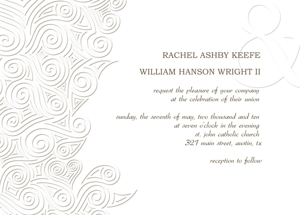 Wedding Invitation Cards Templates – Free Wedding Invitation Card Template