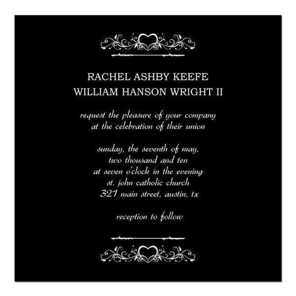 Wedding Invitation Stationary
