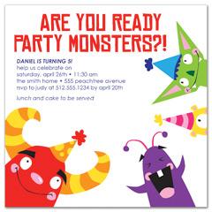 free kids birthday invitation